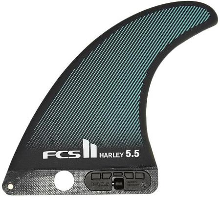 new-fcs-surf-ii-harley-single-5-5-inch-fin-glass-surfing-accessories-fin-grey