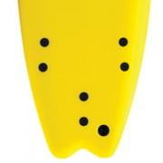 Softech+Handshaped+7'0+Softboard+Tail