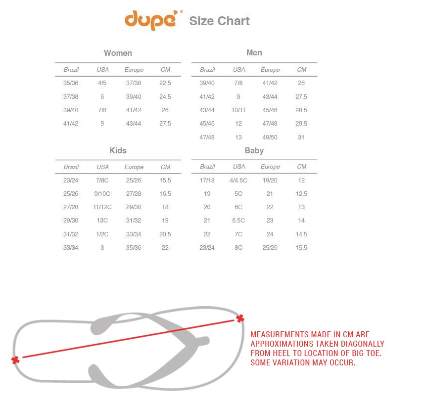 dupe-size